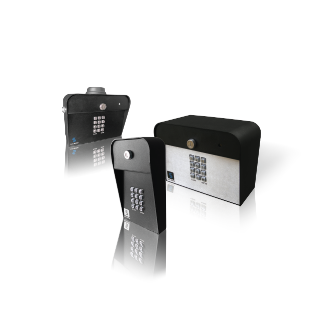 This is Spiderdoor access control keypads.